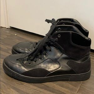 Ferragamo high top sneakers